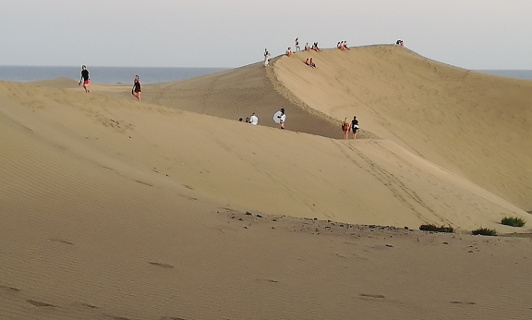 Dunes of Maspalomas - Southern Route
